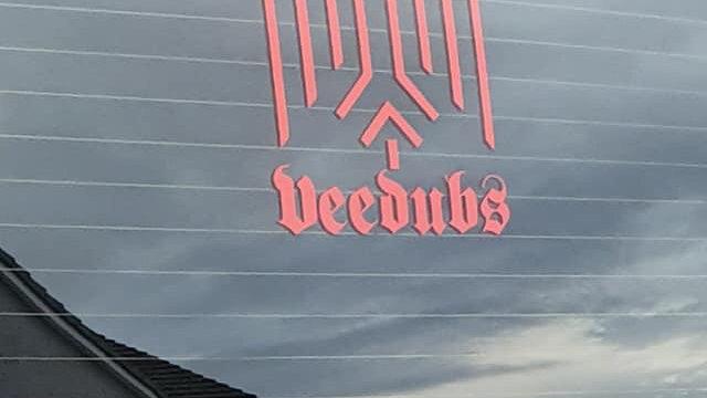 Commersh Veedubs VW Wings decal