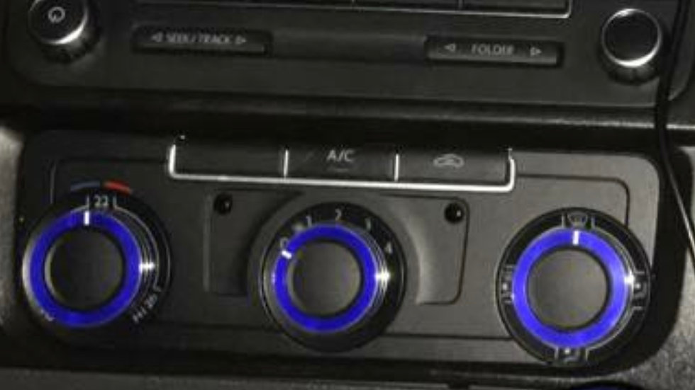 VW T5.1 Caddy air conditioning dial covers