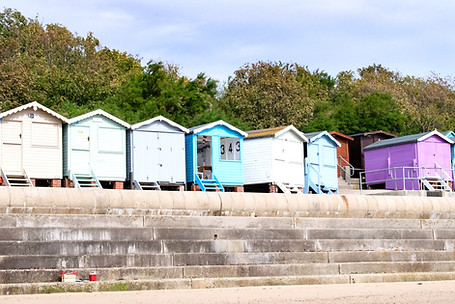Frinton Beach Hut 343 - Cool Coastal Huts