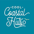 Cool Coastal Huts logo 150719 yellow bir