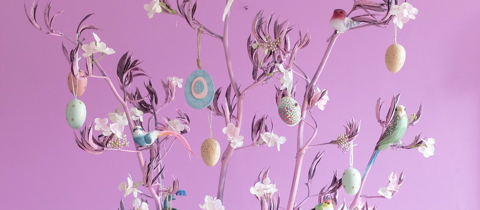 How to create a Cherry Blossom Easter Tree