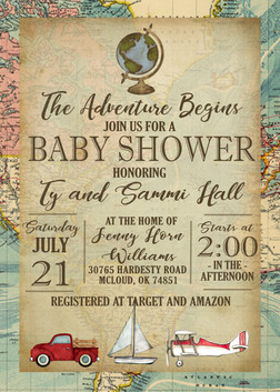Adventure Baby Shower