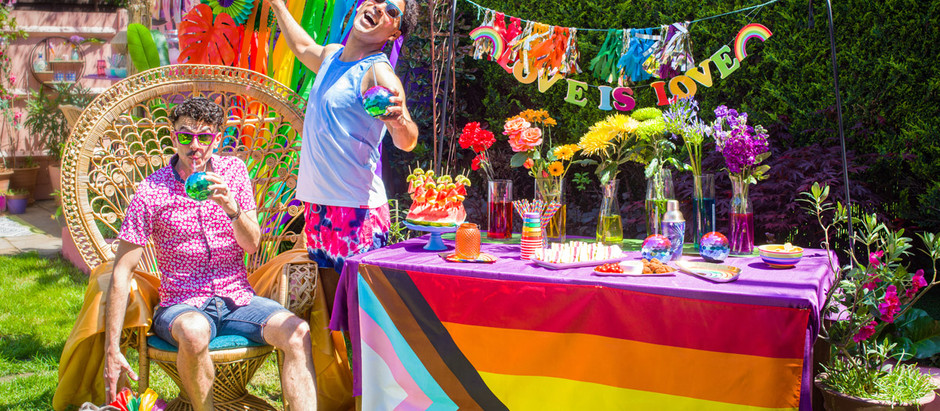 HOW TO PARTY WITH PRIDE