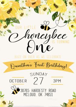 Honeybee Birthday