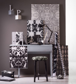 LP Fabrics - Black & White