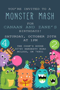 Monster Mash Birthday
