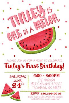 One In A Melon Birthday