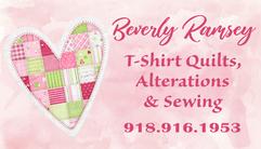 Heart Quilt Business Card