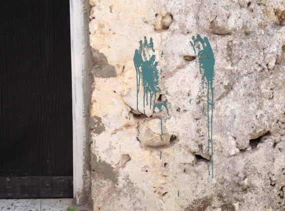 Blue Hands, Tzfat, Israel