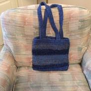 $20 Bag in Deep Blues