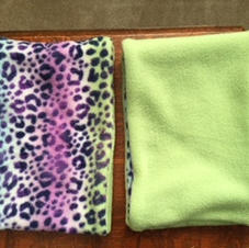 $7 Lime Green a Pink Leopard