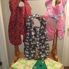 Body bibs! $15 each, Receiving Blankets $10