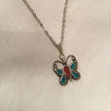 Butterfly Pendent $8