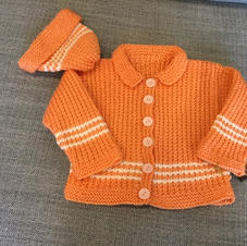 Pumpkin Stripes Set