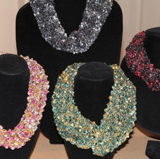 Our Bright and Sparkely Scarves $15