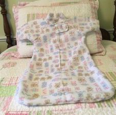"""$20 Sleepbag """"Hearts & Teddies"""""""