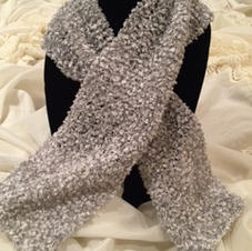 Lovely Silver Grey Scarf