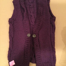 $35 Long vest, Small