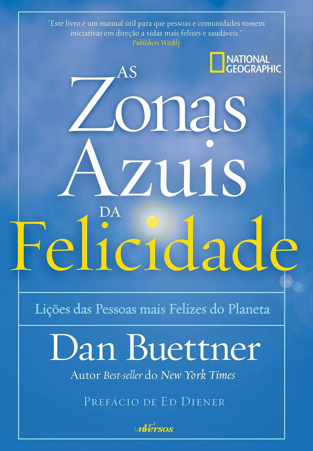 Livro Zonas Azuis da Felicidade