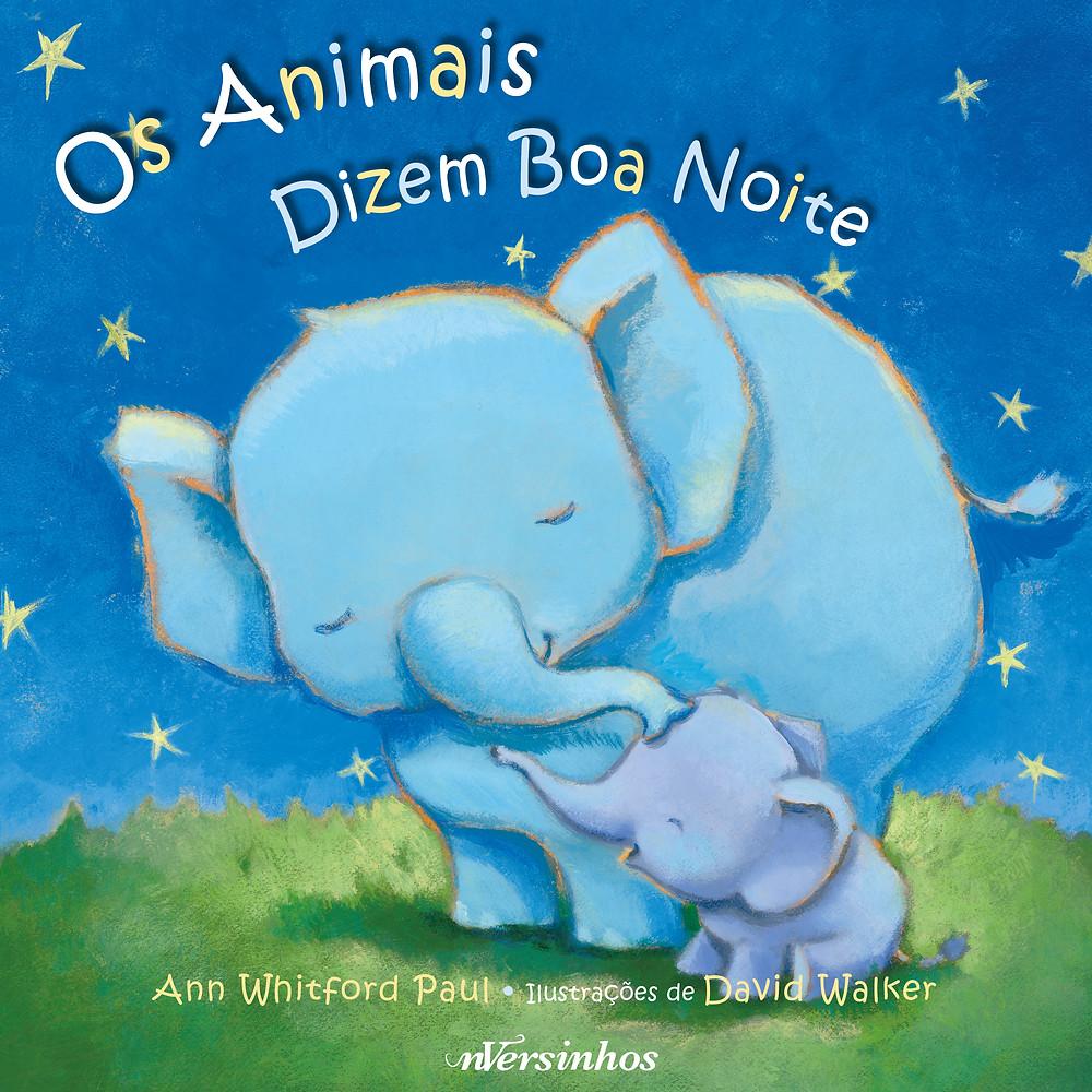 """Capa do livro """"Os Animais Dizem Boa Noite"""""""