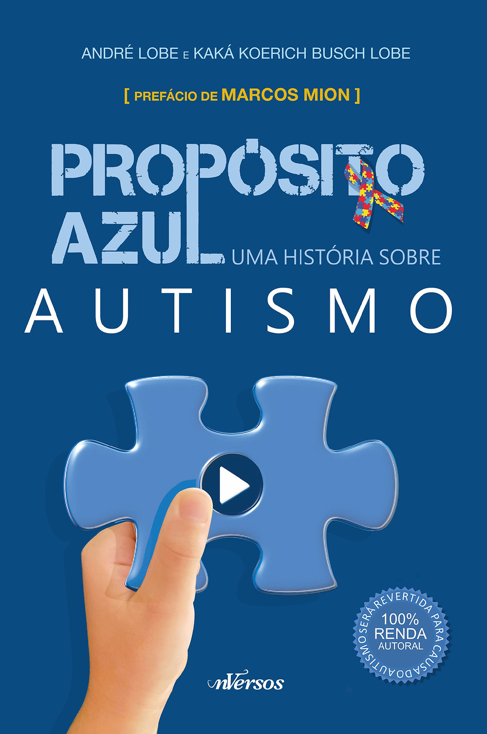 Livro sobre autismo - Propósito Azul