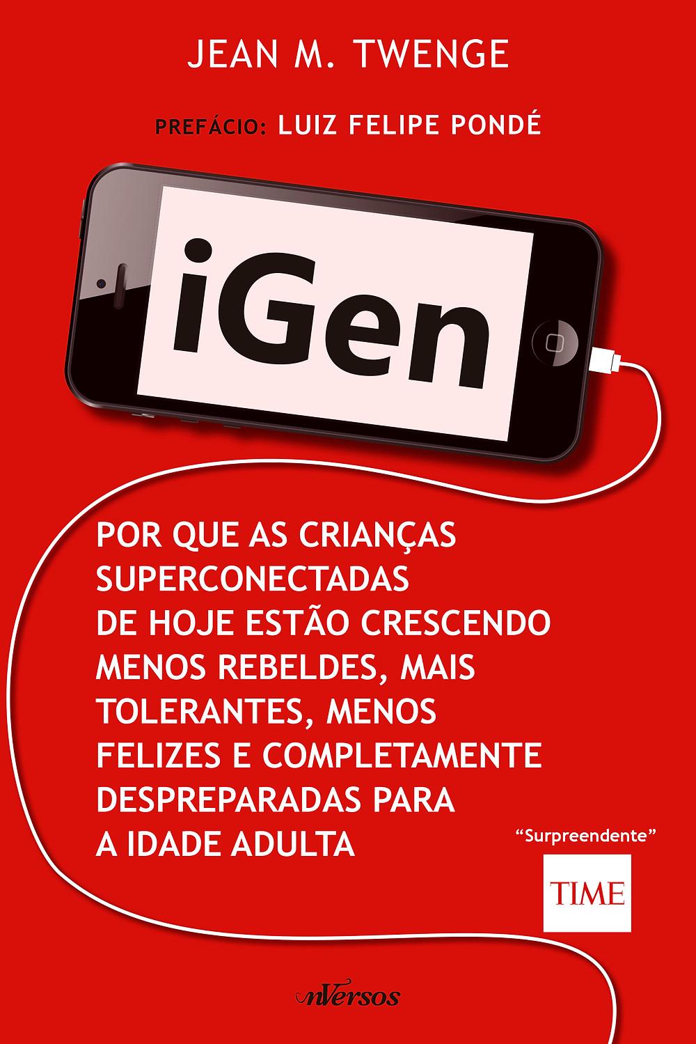 Livro iGen da nVersos Editora