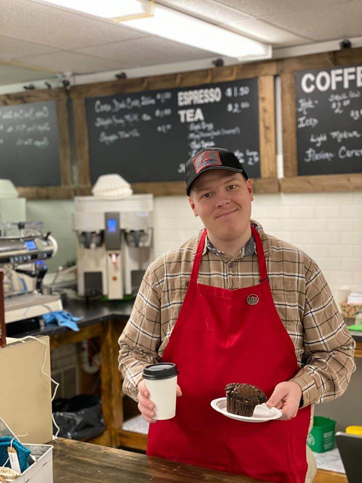Michael Coyne dono da cafeteria Red White & Brew