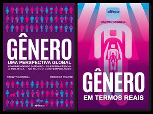 """Capa dos livros """"Gênero - Uma Perspectiva Global"""" e """"Genero em Termos Reais"""""""