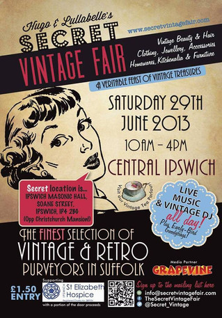 Secret Vintage Fair- Ipswich