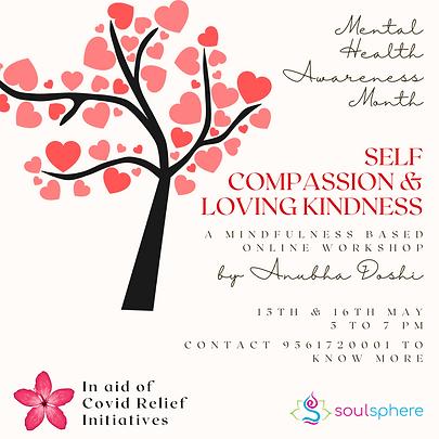 self compassion & loving kindness worksh