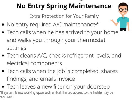 No Entry Required Air Conditioner Maintenance Explained