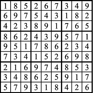 Warm and Cozy Faszold Sudoku Ad Answer K