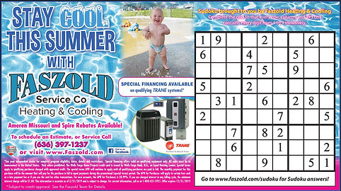 Stay Cool this Summer with Faszold Aug 2