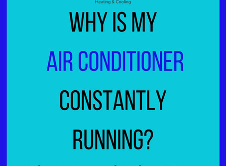 Is it normal for my air conditioner to constantly run in the summer?