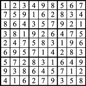 Hit it out of the park Faszold sudoku an