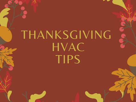 HVAC Tips for Thanksgiving