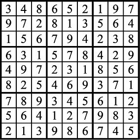 Faszold Happy Mothers Day Sudoku Answers