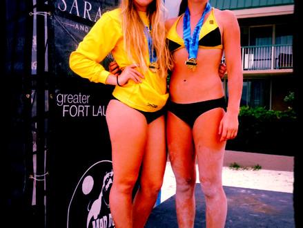 Kaylie Wins (18s) & Tori Too (16s)!