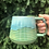 Thumbnail: Ludo Mug with Horizontal Texture in Green Flux