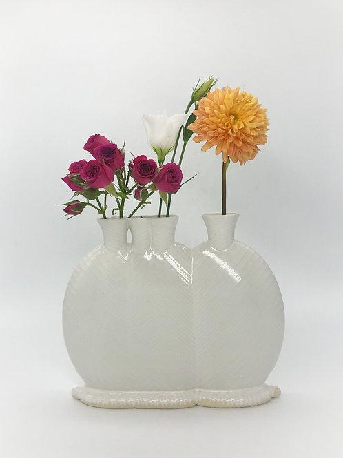 Statler & Waldorf Vase in White