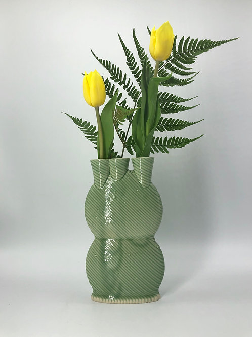 Snorks Vase in True Celadon