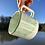 Thumbnail: Gozer Mug with Horizontal Texture in Minty Wash