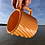 Thumbnail: Gozer Mug with Diagonal Texture in Orange