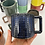 Thumbnail: Gozer Mug with a Grid Dimple Texture in Midnight over Speckle