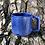 Thumbnail: Gozer Mug with Horizontal Texture in Cobalt