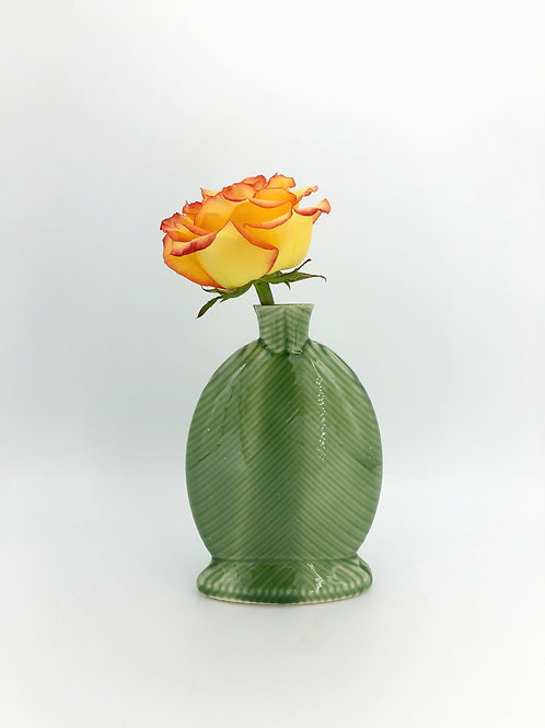 Willow Vase in True Celadon