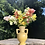 Thumbnail: Leander Vase with Horizontal Texture in Marigold