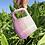 Thumbnail: Ludo Mug with Diagonal Texture in Violet Fade