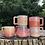 Thumbnail: Gozer Mug with Vertical Texture in Aqua Flux
