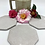 Thumbnail: Orchid Station Coaster Set in White Over Speckle